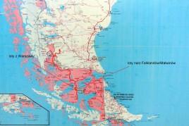 loty na/z Falklandów/Malwinów