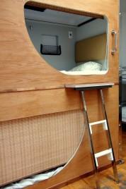 21-kabina sypialna w hostelu