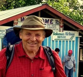 28- autor, wyspa Nowa Georgia. Zachodnia Priwincja, Wyspy Solomona