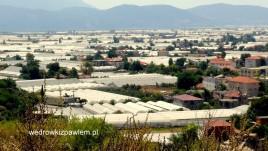 17- miasto namiotów foliowych k. Ksantos
