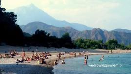 24- Olympos plaża, kolejka na Tahtai