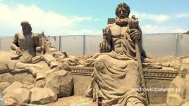 29- antalya, rzeżby z piasku