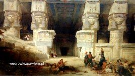 06, The Temple of Dendera- Egipt, David Roberts, 1841