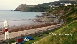 08, Port Erin, klifowe wybrzeże
