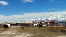 24- granica Takżykistanu z Kirgistanem na drodze pamirskiej