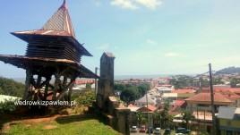 01- Cayenne, miasto z Fortu Ceperou