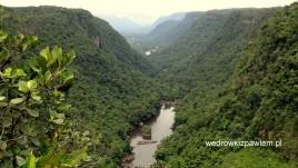 22- rzeka Patara w Amazonii Gujany