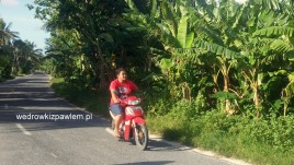 05- jedyny transport na Funafuti