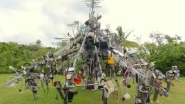 21- Niue, park z rzeżbami
