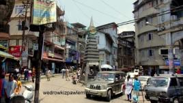 08- Kalimpong, centrum miasta