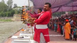 15- Riszikesz, Festiwal Gangi
