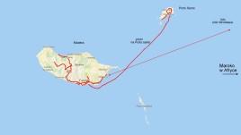 mapka archipelagu Madery