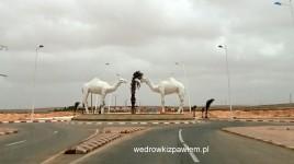 w Maroku na pustyni- jedno z miasteczek