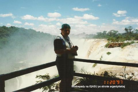 Wodospady na IQASU po stronie argentyńskiej