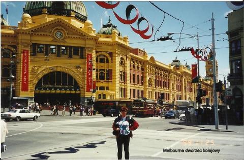 Melbourne dworzec kolejowy,kontynent,Sydney,Melbourne,Brisbane,12 apostołów,Ballarad,pingwiny,kangury,diabeł tasmański,