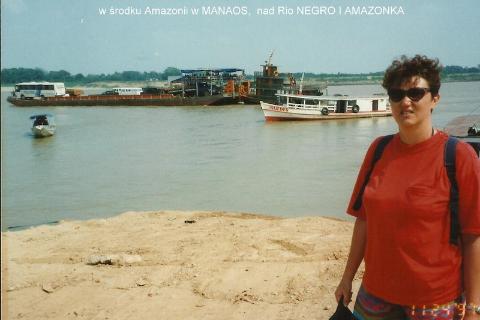 w srodku Amazonii w MANAOS,  nad Rio NEGRO I AMAZONKA,