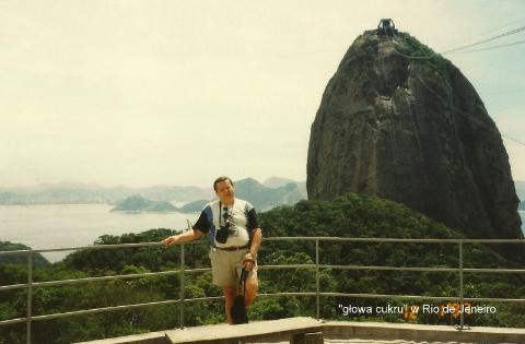 'glowa cukru' w Rio de Jeneiro,Ameryka Płd.,Brasilia,Manaos,Salwador,Rio de Janeiro,Amazonia,pirania,karnawał brazylijski,wodospady Iquasu,