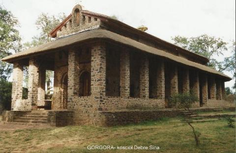 GORGORA- kosciol Debre Sina,Lalibela,Axum,kosciol koptyjski,