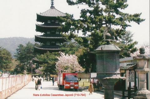 Nara d.stolica Cesarstwa Japonii (710-794),wyspy Japonskie,Tokio,Kioto, Expo,palac cesarski,podroze,lodzianin,