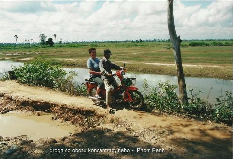 droga do obozu koncentracyjneho k. Pnom Penh,daleki wschod,Azja,Pnom Pen, Angkr Vat, razim Pol Pota, oboz konnentracyjny, Mekong,podroznik,