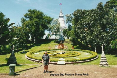 pagoda Sap Pnom w Pnom Penh,