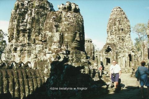 swiatynie w Angkor
