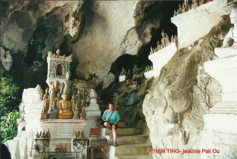 THAM TING- jaskinie Pak Ou,Azja,indochiny,daleki wschod, polscy globtroterzy,lodzianin,