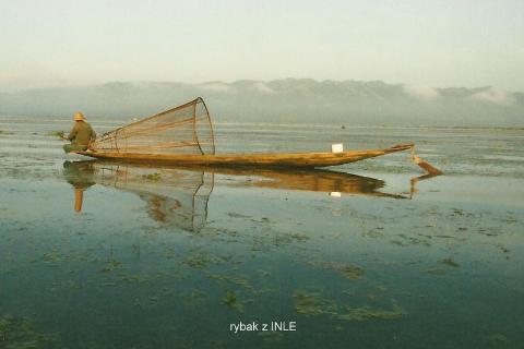 rybak z INLE,Azja,idochiny,rangun,pagan, jezioro inle,kobiety,zyrafy,
