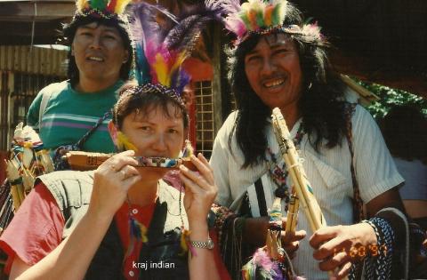 kraj indian,Ameryka Pld, indianie,egzotyka,podróznik z lodzi,fily podroznicze,