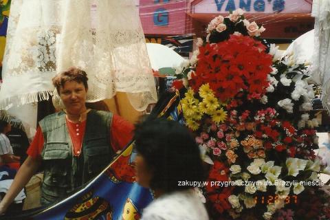 zakupy w przygranicznym do Brazylii miescie,Ameryka Pld, indianie,egzotyka,podróznik z lodzi,fily podroznicze,