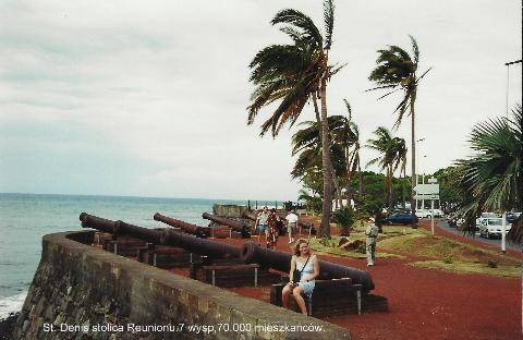 St. Denis stolica Reunionu.7 wysp,70.000 mieszkancow.ocean indyjski, wyspa,st.denis, wulkan,podrozowanie ,tanie,