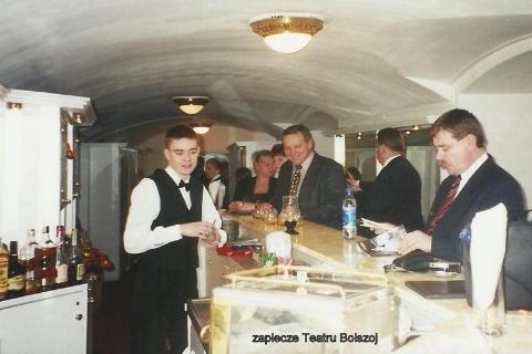 zaplecze teatru Bolszoj