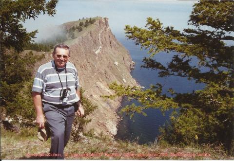 na wyspie Olchon, na 'jego glebokosci' Bajkale: 1625m glebokosci,20% slodkiej wody swiata,