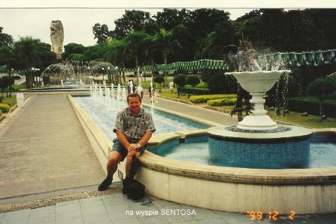 na wyspie SENTOSA,
