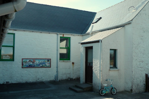 Fair Isle, Szetlandy, szkoła z ośmioma uczniami