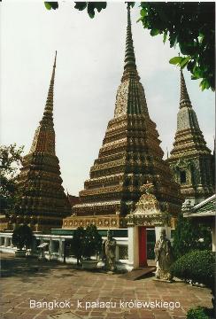 Bangkok- k.palacu krolewskiego,azja ,bangkok,palac krola,nurkowanie,prelekcje,spotkania filmy, podroznicze,