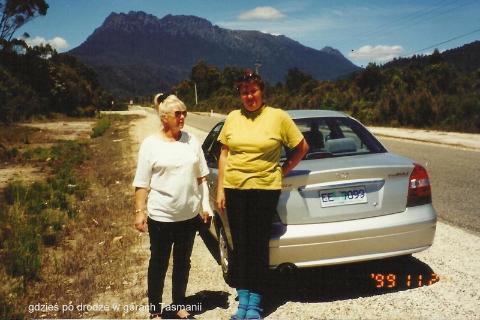 gdzies po drodze w gorach Tasmanii,wyspa, diabel tasmanski, prelekcje, spotkania,filmy podroznicze, globtroter,