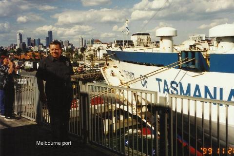 Melbourne port,wyspa, diabel tasmanski, prelekcje, spotkania,filmy podroznicze, globtroter,