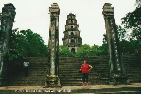 HUE d. stolica cesarstwa wietnamskiego,Azja, hue,hanoi,halong, prelekcje,spotkania,fimy poroznicze,podroznik,
