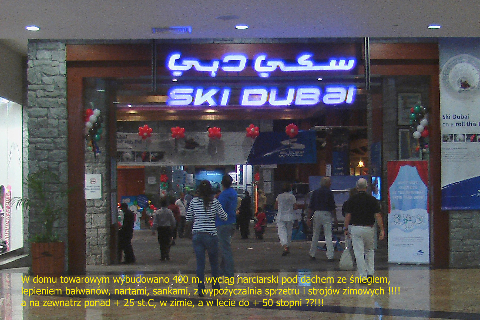 Dubaj,dom towarowy z wyciągiem narciarskim,hotel burj al arab,hotel żagiel,dubaj,abu dabi,hotel emirates palace,wieżowce, najwyższy budynek świata,