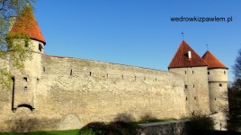 05- Tallin, mury obronne