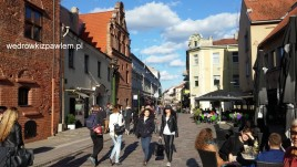 06- Kowno, kamieniczki starego miasta