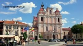 15- Litwa, Wilno, centrum starego miasta