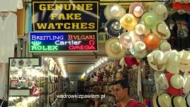 14. Bazar w Selcuk, genialne podróbki zegarków