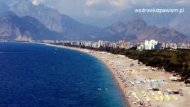 26- Antalya, plaża i góry