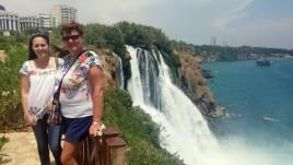 42- wodospad na rzece Duden, Antalya