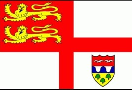 01, Brecqhou flaga