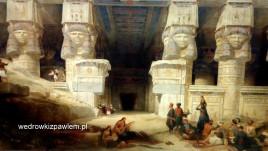 06, The Temple of Dendera- Egipt, David Roberts, 1841