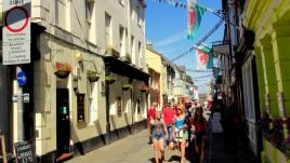 07, uliczki Caernarfon