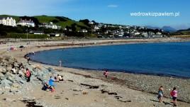 09, Criccieth, kamieniste plaże